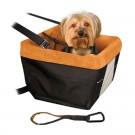 Kurgo Skybox Booster Siège rehausseur voiture pour chien noir et orange