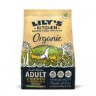 Lily's Kitchen Croquettes Poulet et légumes BIO au four Chien 1 kg- La Compagnie des Animaux