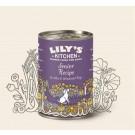 Lily's Kitchen Chien Senior Sans Céréales à la Dinde 6 x 400 g- La Compagnie des Animaux