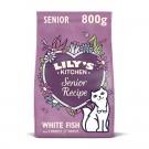 Lily's Kitchen Croquettes Sans Céréales au Poisson Chat Senior 800 g