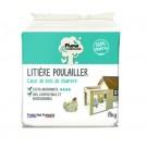 Plume & Compagnie Litière poulailler extra absorbante Bois de chanvre 8 kg