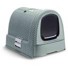 Maison de Toilette Curver Petlife Litter Box Bleu gris