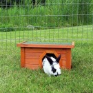 Natura habitat pour petits animaux 40 × 20 × 28 cm bois naturel