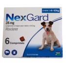 Nexgard Chiens 4 à 10 kg 6 cps