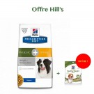 Offre: Hill's Prescription Diet Canine Metabolic + Urinary 12 kg = Hill's Treats Healthy Weight 220 g OFFERT
