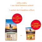 Offre Hill's: 1 sac Ideal Balance Canine Puppy Sans Céréales poulet et pomme de terre 2 kg acheté = 1 sachet de Friandises offert
