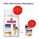 Offre Hill's: 1 sac Science Plan Canine Mature Adult 5+ Active Longevity Large Breed 12 kg acheté = 4 boites canine mature 370 g offertes