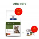 Hill's Prescription Diet Feline Metabolic 4 kg- La Compagnie des Animaux