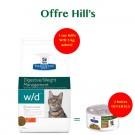 Hill's Prescription Diet Feline W/D 5 kg- La Compagnie des Animaux
