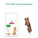 Offre Kitten: 1 sac Hill's Science Plan Kitten Healthy Development Poulet 2 kg acheté = 1 canne à pêche offerte