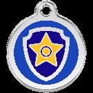 Offre découverte -15 %: Paw Patrol Médaillon d'identité Chase 30 mm