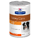 Hill's Prescription Diet Canine K/D au poulet 12 x 370 grs