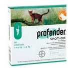 Profender spot-on petit chat 0,5 à 2,5 kg 2 pipettes