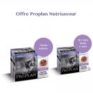 Offre Purina Proplan Cat Nutrisavour Junior Dinde 1 boite achetée = la 2ème à -60%