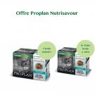 Offre Purina Proplan Cat Nutrisavour Gelée Sterilised Poisson 1 boite achetée = la 2ème à -60%
