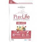 PureLife Croquettes Mini Adult pour chien 2 kg- La Compagnie des Animaux
