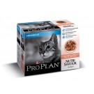 Purina Proplan Cat Nutrisavour Housecat Saumon 10 pochons 85 grs