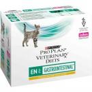 Purina Proplan PPVD Féline Gastro Intestinal EN sachets poulet 10 x 85 grs