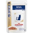 Royal Canin Veterinary Diet Cat Renal Poulet Sachet 12 x 85 grs