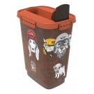 Rotho Mypet Pet Food Container VINTAGE chat/chien 10 L - La Compagnie des Animaux