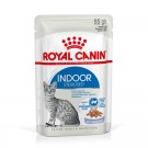 Royal Canin Féline Health Nutrition Indoor Sterilised gelée 12 x 85 g