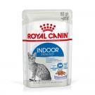 Royal Canin Féline Health Nutrition Indoor Sterilised gelée 12 x 85 g