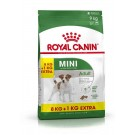 Royal Canin Mini Adult 8 kg + 1 kg offert