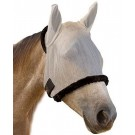 Farnam SUPERMASK avec oreille Silver / Black HORSE