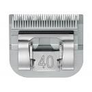 Tête de tonte Aesculap SnapOn GT310 N40 0,1 mm pour tondeuses compatibles