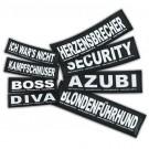 2 Stickers Velcro Julius K9 taille S MONSTER
