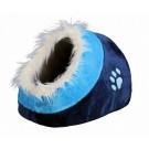 Trixie Abri pour chat Minou bleu foncé/bleu- La Compagnie des Animaux