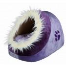 Trixie Abri pour chat Minou mauve/violet 35 x 26 x 41- La Compagnie des Animaux