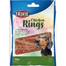 Trixie Friandises chicken rings pour chien 100 g