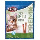 Trixie Premio Anti-Hairball à la Volaille et au Foie en Stick pour Chat 20 grs