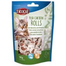 Trixie Premio Fish Chicken Rolls pour chat 50 g