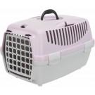 Trixie Box de transport Capri gris clair / mauve taille 1 - La Compagnie des Animaux
