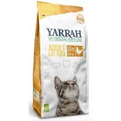 Yarrah Bio croquettes au poulet pour chat 2,4 kg- La Compagnie des Animaux