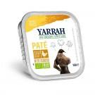 Yarrah Bio Pâté de poulet et aux algues marines pour chien 14 x 150 grs- La Compagnie des Animaux