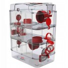 Zolux Cage RODY.3 Trio Rouge