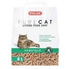 Zolux PURECAT Litière végétale pour chat 8 L