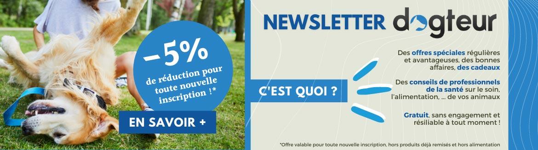 Inscrivez-vous à notre newsletter et profitez de -5% de réduction