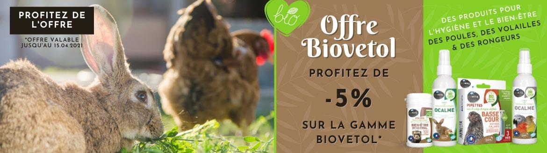 Profitez de notre offre sur les produits Biovetol