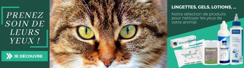 Prenez soin des yeux de vos animaux grâce à notre sélection de produits