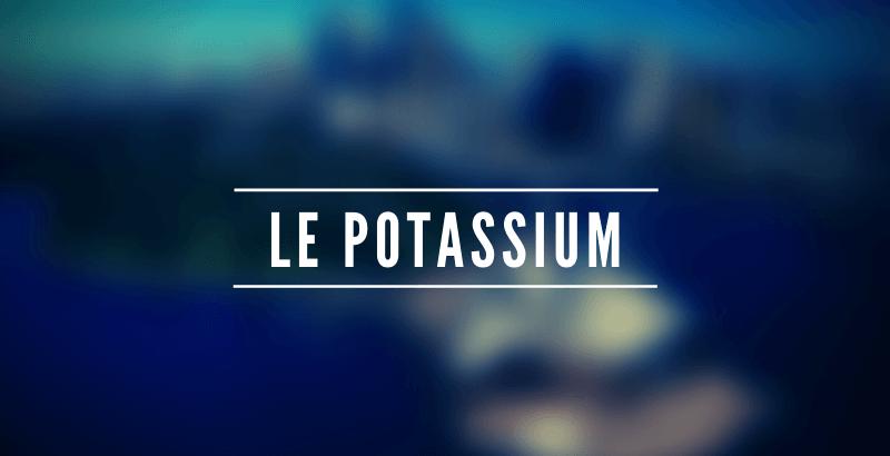 Les nutriments - Le Potassium