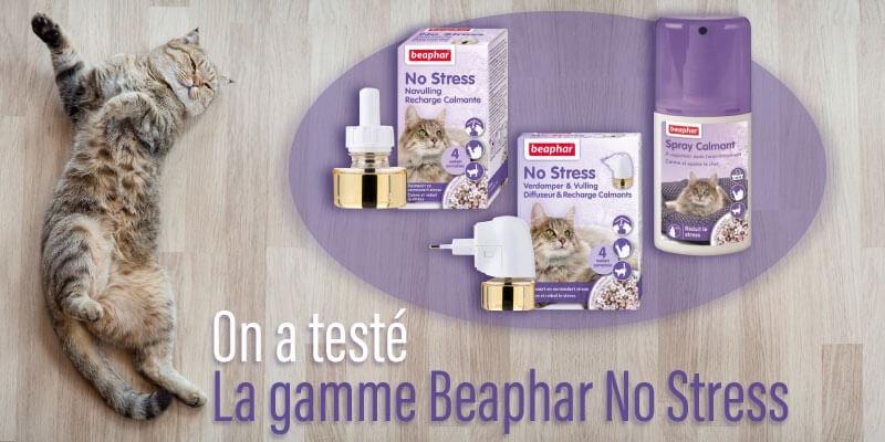 On a testé : No Stress la gamme calmante de Beaphar