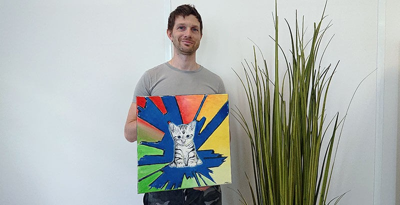 Interview : Cyrille, un artiste à La Compagnie des Animaux !
