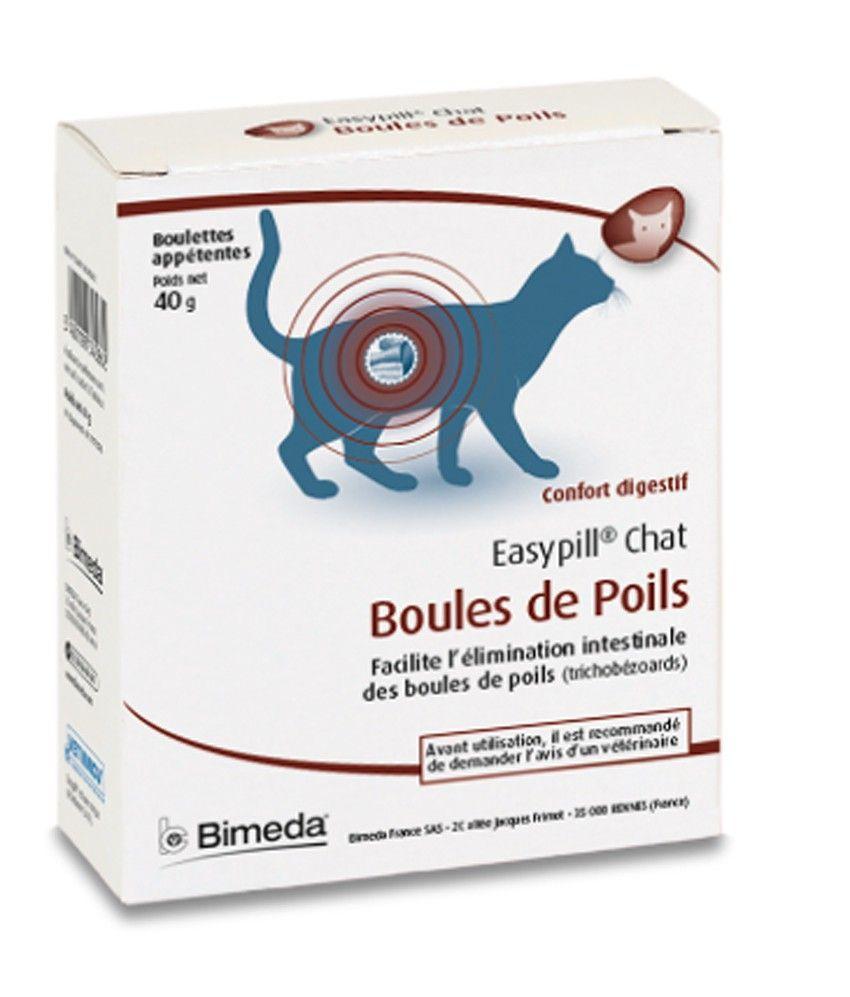 easypill boules de poils chats