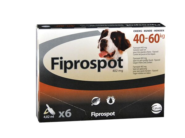 Fiprospot 40-60 6 pipettes